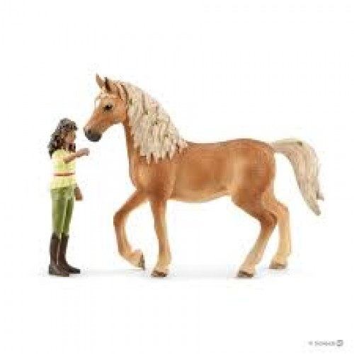 Arab Mare Horse Toy Figure With Blanket Toys & Hobbies Schleich Horse Club Animals & Dinosaurs
