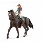 Lisa & Storm - Hanoverian Gelding - Schleich Horse Club 42516
