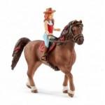 Horse Club Hannah & Cayenne - Quarter Horse Gelding - Schleich 42411
