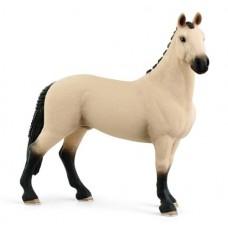 Horse - Hannoverian Gelding, Red Dun - Schleich 13928 NEW 2021
