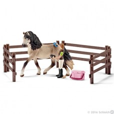 Horse Care Set with Andalusian  - Schleich 42270 *
