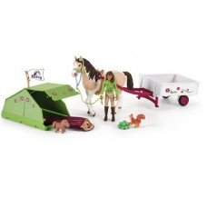 Horse Club Sarah's Camping Adventure - Schleich 42533 Available July 2021