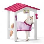 Horse Stall with Luistana Mare - Schleich 42368