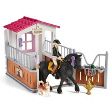 Horse Stall with Tori & Princess - Schleich 42437 Available October 2021