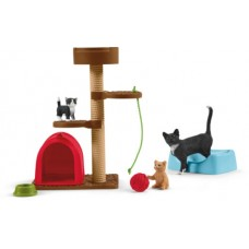 Kitten Playpen - Schleich 42501 - NEW for 2020 - AVAILABLE MARCH 2020