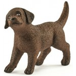 Dog - Labrador Retriever Brown - Puppy - Schleich 13835