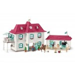 Horse Club Large Stable Playset - Schleich  42416