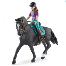 Lisa & Storm - Hanoverian Gelding - Movable - Schleich Horse Club 42541 NEW 2021 Available September2021