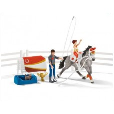 Mia's Vaulting Set - Schleich 42443 - NEW for 2020