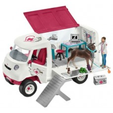 Mobile Vet with Hanovarian Foal - Schleich 42370