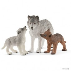 Mother Wolf with Pups - Schleich 42472 - NEW for 2019