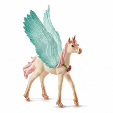 Bayala - Pegasus Foal Decorated Unicorn - Schleich 70575