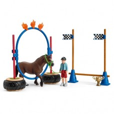 Pony Agility Race - Schleich 42482  NEW in 2019