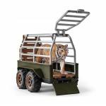 Quad Bike with Trailer and Ranger - Schleich Wildlife 42351