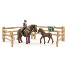 Rider with Icelandic Ponies - Schleich 42363