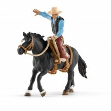 Saddle Bronc Riding with Cowboy - Schleich 41416