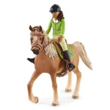 Sarah & Mystery - Arab Mare - Moveable - Schleich Horse Club 42542 NEW in 2021 Available September 2021