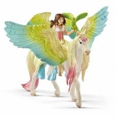 Bayala - Fairy Surah with Glitter Pegasus - Schleich 70566