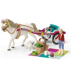 Small Carriage for the Big Horse Show - Schleich Horse Club 42467 NEW 2021