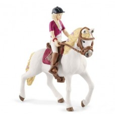 Sofia & Blossom - Andalusian Mare - Movable - Schleich Horse Club 42540 NEW in 2021 Available September 2021