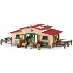 Stable with Horses and Accessories - Schleich 42195