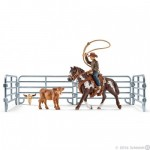 Team Roping with Cowboy - Schleich 41418