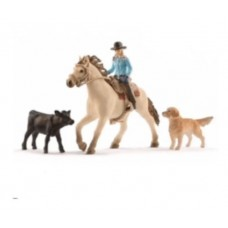 Western Riding Set - Schleich 42419   NEW in 2018