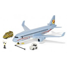 Commercial Aircraft with Accessories - Siku 5402