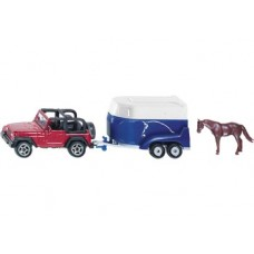 Jeep with Horse Trailer - Siku 1651