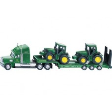 Low Loader with John Deere Tractors - Siku 1837