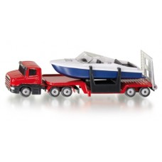 Low Loader with Boat - Siku 1613
