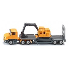 Low Loader with Excavator - Siku 1611