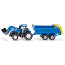 Tractor New Holland Front Loader with Spreader - LIMITED AUSTRALIAN ED. - Siku 1630 NEW in 2020