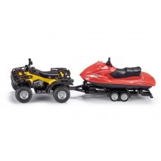 Quad with Jet Ski - Siku 2314