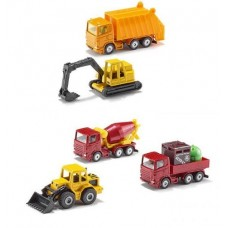 Construction Vehicles Gift Pack - Siku 6283