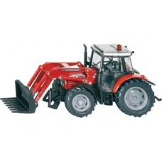 Tractor Massey Ferguson  with Front Loader - Siku 3653