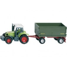 Tractor with 2 Axled Trailer  - Siku 1634