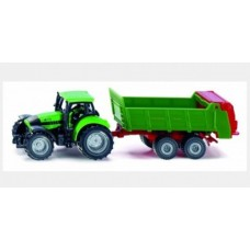 Tractor with Universal Manure Spreader - Siku 1673