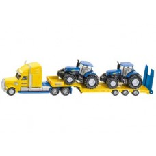 Truck with New Holland Tractors - Siku 1805