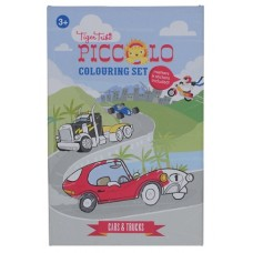 Colouring Set - Cars and Trucks - Tiger Tribe