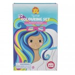 Colouring Set 3D - Rainbow Dreams - Tiger Tribe