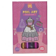 Foil Art Princess Gowns - Tiger Tribe