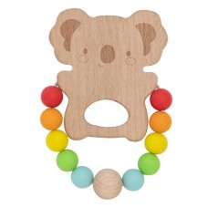 Teether Wooden & Silicone - Koala - Tiger Tribe