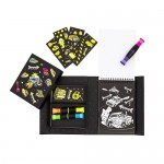 Colouring Set - Neon Road Stars - Tiger Tribe
