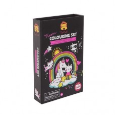 Colouring Set - Neon Unicorn & Friends - Tiger Tribe