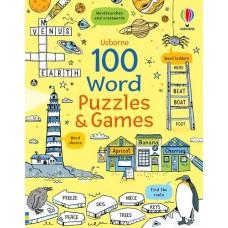 100 Word Puzzles & Games - Usborne