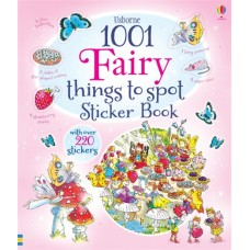 1001 Things to Spot Fairy Sticker Book  - Usborne