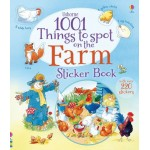 1001 Things to Spot on the Farm Sticker Book  - Usborne
