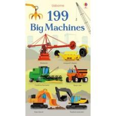 199 Big Machines - Board Book - Usborne