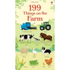 199 Things on the Farm - Board Book - Usborne